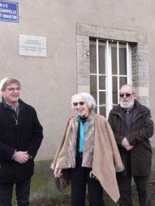 170202han-sur-seille Inaug.plaque.jpg Yvette Reisnick-Weisberker