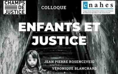 Colloque «Enfants et Justice» le mardi 6 avril 2021  à ASKORIA Rennes
