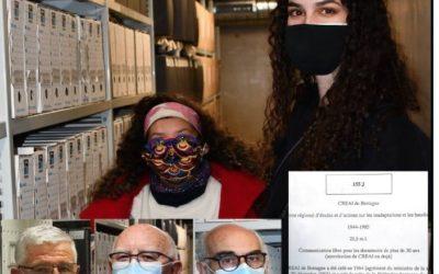 8 décembre Cnahes BZH aux Archives Départementales Fonds CREAI_Bretagne I55 J