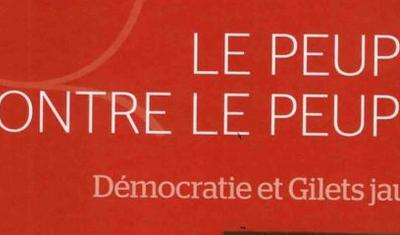 Ouvrage d'actualité : «Le peuple contre le peuple» de Jacques Beauchard