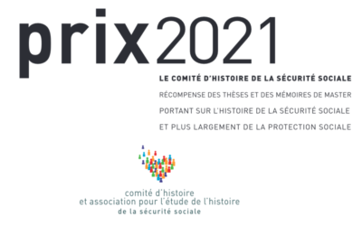 Appel à candidature pour le prix CHSS 2021 avant le 20 mai