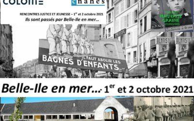 1 et 2 octobre 2021 Ils sont passés par Belle-Ile en mer…
